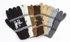 Alpaca Child's Gloves For Children Llama Design - Ethically sourced from Bolivia