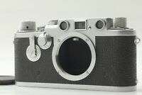 """TOP MINT S/N 696937 LATE model "" LEICA IIIf 3F RED DIAL From JAPAN #176"