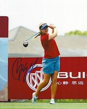 CHARLEY HULL signed LPGA 8x10 photo with COA G