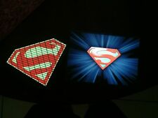 Superman Sound-Activated LIGHTS UP LED T-Shirt ALL SIZES Wireless