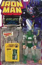 Vintage 1995 Marvel Comics ~ WHIRLWIND ~ IRON MAN Figure ToyBiz ~ MOC