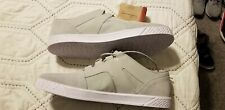 NWT Oakley Men's SZ 11 Casual Canvas Suede Skateboarding Skate Shoes Grey White