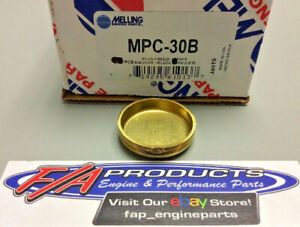 """Melling MPC-30B Brass 1-1/2"""" Deep Cup Expansion Freeze Block Plugs BOX OF 50"""
