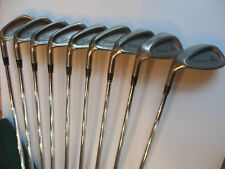 Titleist DCI OVERSIZE + Men's Left-Handed irons 3-S/PW -Used LH -fFCM 6.0 SHAFTS