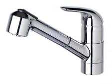 American Standard SAGA SINK MIXER WITH PULL OUT SPRAY 207mm WELS 4 Star CHROME