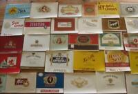 original lot of 50 different cigar box labels    ORIGINAL VINTAGE NOS