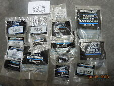 Mercury Mariner Quicksilver Parts, LOT OF 45 O-RINGS
