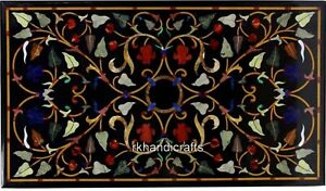 Hand Made Dining Table Top Peitra Dura Art Stone Hotel table Size 30 x 48 Inches