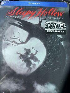 Sleepy Hollow Steelbook (Blu-ray, 1999) Factory Sealed