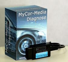 Diagnose Interface USB CAN Bus OBD2 Fehler Gerät auslesen PKW für Mercedes Benz