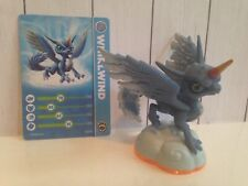 Skylanders-Giants-Whirlwind-Video Game Action Figure Card Toy-horned blue Dragon
