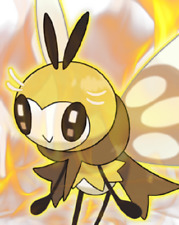 Ultra Pokemon Sun and Moon Totem Ribombee