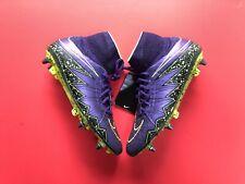 Nike Hypervenom Phantom II Purple / Grape / Volt SG pro UK Size 7.5