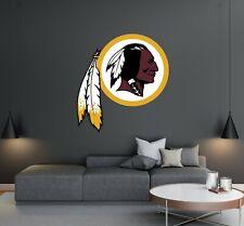 Washington Redskins Football Team Logo - Wall Decal Removable & Reusable