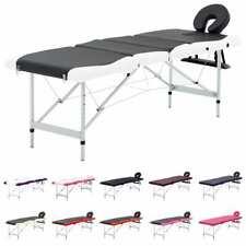 vidaXL Massagetisch Klappbar 4 Zonen Alu Therapie Massageliege mehrere Auswahl