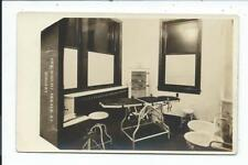 Real Photo Postcard Dekalb Illinois Ill Il Dr Wright Surgery Room Interior # 3
