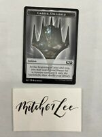 MTG Magic the Gathering - Garruk, Unleashed  Emblem - Core Set 2021 M21