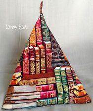 Bean Bag Cojín Stand para iPad Tablet Kindle Libro. hecho a mano. Biblioteca de libros.