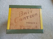 "Vintage ""BAIT CANTEEN"" Worm Box"