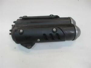 Gilera GP 800 ZAPM55 Auspuff Auspuffendtopf Schalldämpfer Muffler Exhaust V-Twin