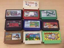Lot of 10 Famicom  NES Games Japan import
