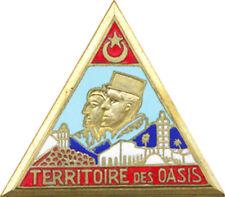 Territoire des OASIS,3° modèle ciel bleu,pastille ovale ajourée (Mourgeon)(1983)