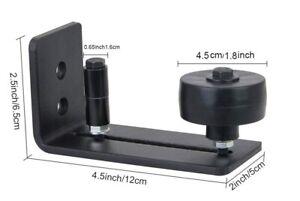 Barn Door Floor Guide Adjustable Wall Mounted Floor Guide Stay Roller