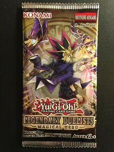 YUGIOH!! Legendary Duelists: Magical Hero Booster! LED6! NEU&OVP! DE!