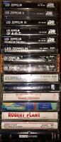 LOT OF 15 LED ZEPPELIN & ROBERT PLANT CASSETTE TAPES 1-4 CODA HOUSES OF THE HOLY