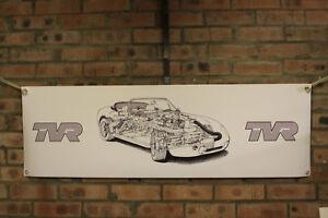 tvr griffith 500 large pvc banner  garage  work shop car show banner