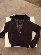 Lee Cooper Brown Winter Jacket with Hood Size 13 Years