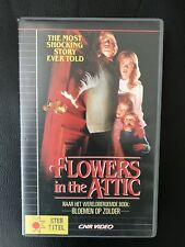 Flowers In The Attic Ex-Rental Vintage Big Box VHS Tape English dutch subs