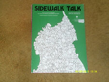 Madonna sheet music Sidewalk Talk '84 3 pages (VG+ shape)