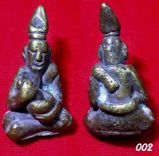 Phra Khemr Cambodia Magic Thai Amulet Buddha Old Talisman Rich Pendant RARE 002