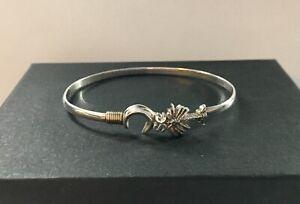 14K Gold 925 Sterling Silver CBC Caribbean Hook Bracelet Bangle South Carolina