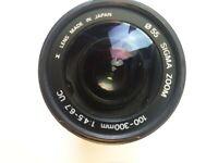 Vintage SIGMA ZOOM 100-300mm Hoya Lens 1:4.5-6.7 DL - Made in Japan For SA KPR