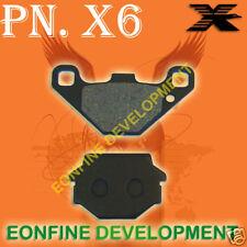 BRAKE PADS For KAWASAKI KLE ZZR 250 ZXR250 KLE500 EX500