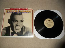 The Very Best of Chuck Jackson 1975 1st Press, ULTRASONIC CLEANED, Shrink Wrap