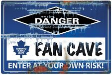 NHL TORONTO MAPLE LEAFS FAN CAVE SIGN