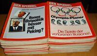 48x Der Spiegel 1972 Nachrichten-Magazin Zeitschrift Geburtstag Geschenk 70er