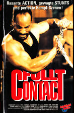 """VHS - FSK 18 - """" Full CONTACT ( Tiger Cage 2 ) """" (1990) - Donnie Yen"""