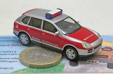 Herpa 048149: Porsche Cayenne, obra de bomberos Porsche