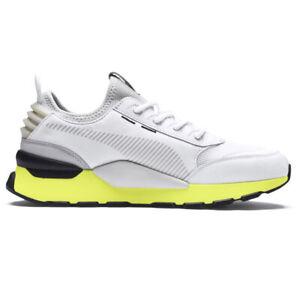 Puma RS-O Tracks Mens Sports Fashion Casual Trainer Shoe White