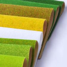 Model Grass Sheets Landscape Mat Wargame Scenery Railway Architecture Terrain