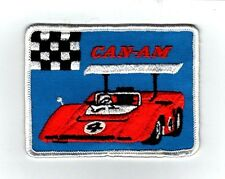 "New Vintage  "" CAN~AM"" 4""x3""  Racing Patch"