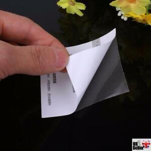 2x Self Adhesive, Transparent, Tent / Fabric Repair Patch 6.8cm Square