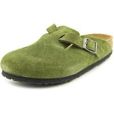 Birkenstock Suede Narrow Width (AA, N) Shoes for Women