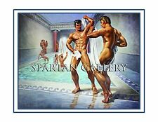 HEDONISM NUDE BODY MALE POSTER MUSCLE MEN POOL GAY ART PRINT GAY INTEREST GIFT