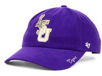 LSU Tigers 47 Brand Women's NCAA Purple Gold Sparkle Adjustable Hat Cap