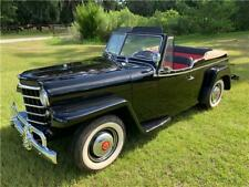 1950 Willys Jeepster Chrome